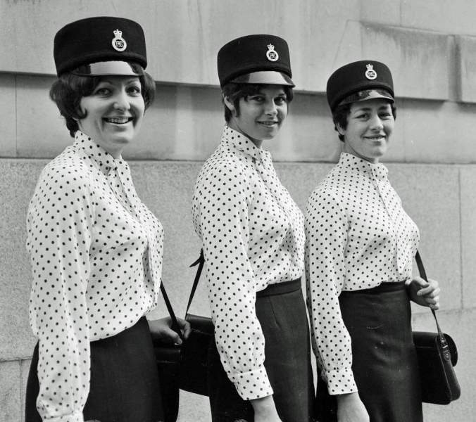 City of London Police officers dressed by Norman Hartnell