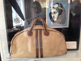Amy Johnson's bag