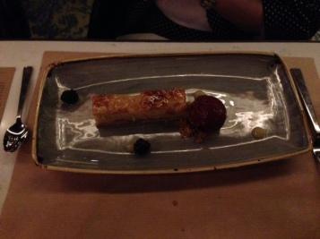 Pear Bakewell Tart