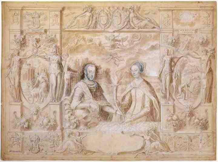 Henri II and Catherine de Medici