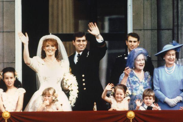 Newlyweds-Prince-Andrew-the-Duke-of-York-and-his-wife-Sarah-Ferguson