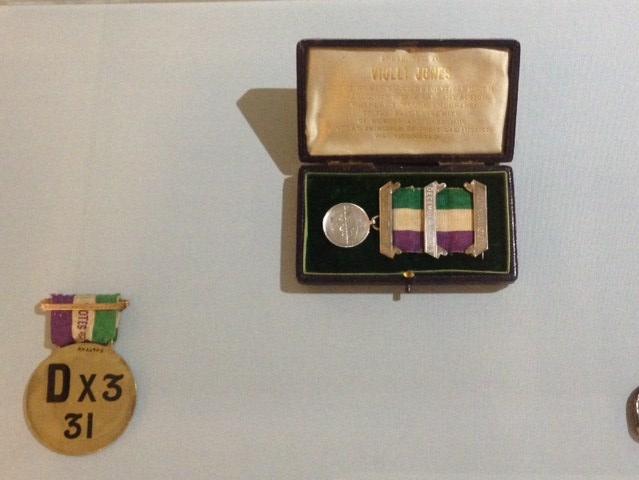 Suffragette medals
