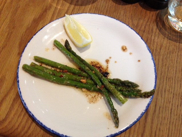 Asparagus with Smoked Butter