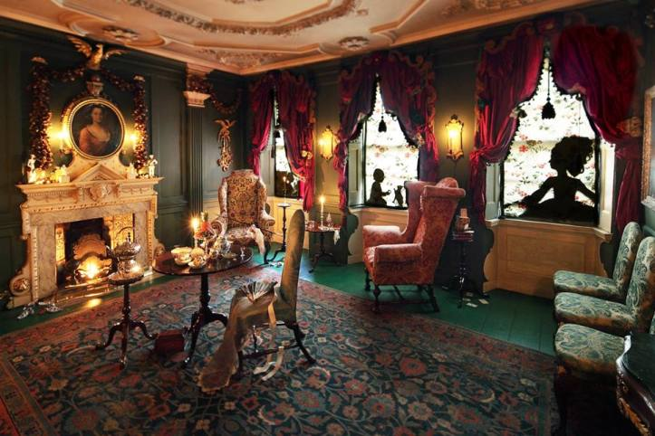 Dennis Severs House - drawing room