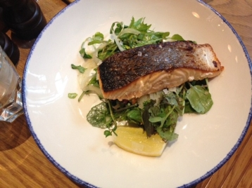 Wood-Roasted Salmon with Fennel & Watercress